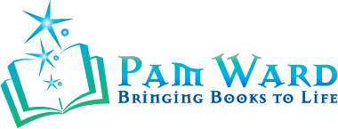 Pam Ward Studio, Audio Book Narrator Logo